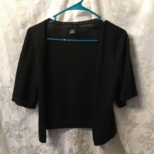 Black metallic cardigan-XS-New York & Co.